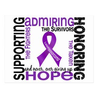 Supporting Admiring Honoring 9 Leiomyosarcoma Postcard