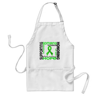 Supporting Admiring Honoring 9 Non-Hodgkins Lympho Apron
