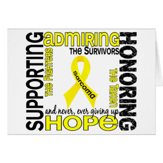 Supporting Admiring Honoring 9 Sarcoma Cards