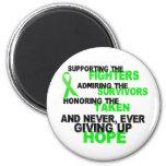Supporting Admiring Honouring 3 LYMPHOMA Fridge Magnet