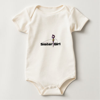 Supporting Endometriosis Awareness Baby Bodysuit