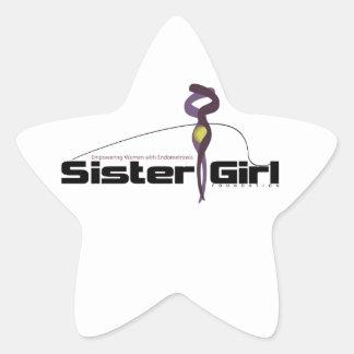 Supporting Endometriosis Awareness Star Sticker