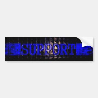 Supporting LEOs Bumper Sticker