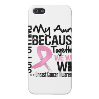 Supporting My Aunt - Breast Cancer Awareness Cases For iPhone 5