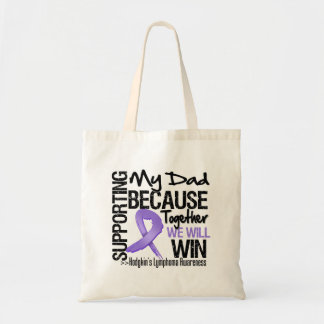 Supporting My Dad - Hodgkin's Lymphoma.png Tote Bags