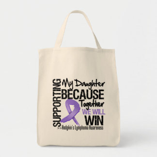 Supporting My Daughter - Hodgkin's Lymphoma.png Bag