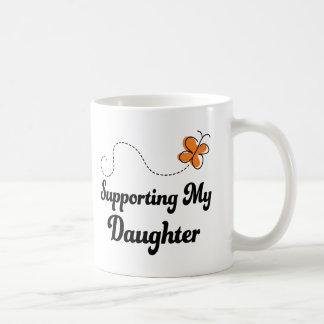 Supporting My Daughter Basic White Mug