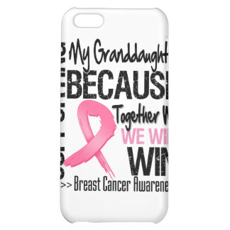 Supporting My Granddaughter - Breast Cancer Awaren Cover For iPhone 5C