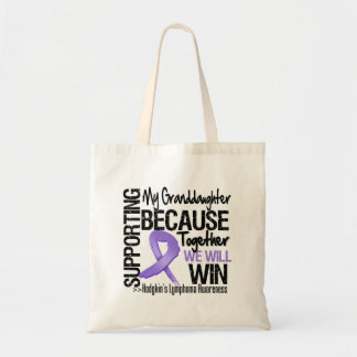 Supporting My Granddaughter - Hodgkin's Lymphoma Bags