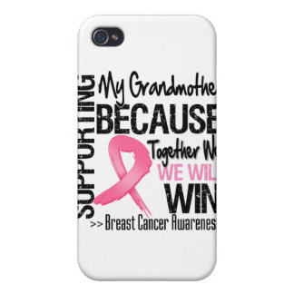 Supporting My Grandmother - Breast Cancer Awarenes iPhone 4/4S Case