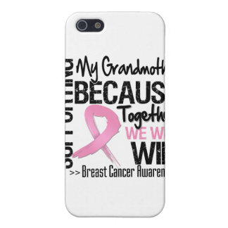 Supporting My Grandmother - Breast Cancer Awarenes Case For iPhone 5
