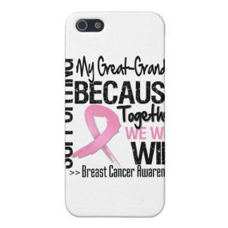 Supporting My Great-Grandma - Breast Cancer Awaren Case For iPhone 5
