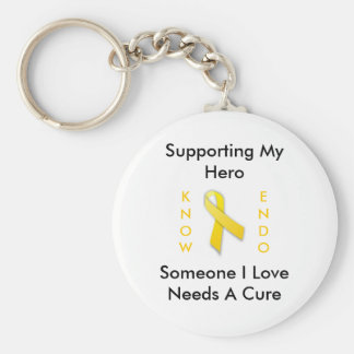 Supporting My Hero, Endo Awareness Key Ring