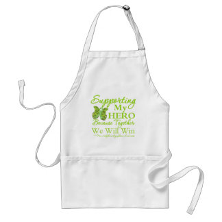 Supporting My Hero - Non-Hodgkins Lymphoma Standard Apron