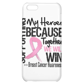 Supporting My Heroes - Breast Cancer Awareness iPhone 5C Case