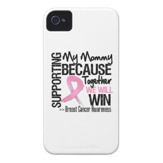 Supporting My Mommy - Breast Cancer Awareness png Case-Mate iPhone 4 Case