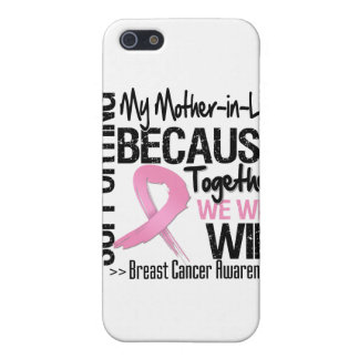 Supporting My Mother-in-Law - Breast Cancer Awaren Case For iPhone 5