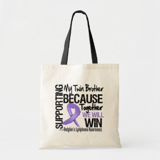 Supporting My Twin Brother - Hodgkin s Lymphoma Bags
