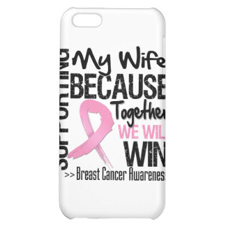 Supporting My Wife - Breast Cancer Awareness png iPhone 5C Covers