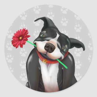 Supporting Pit Bull Stickers