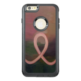 Supportive Rustic Awareness Ribbon Breast Cancer OtterBox iPhone 6/6s Plus Case
