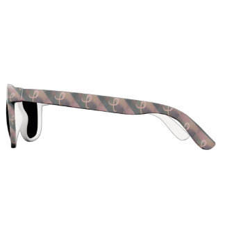 Supportive Style | Rustic Pink Cancer Ribbon Sunglasses