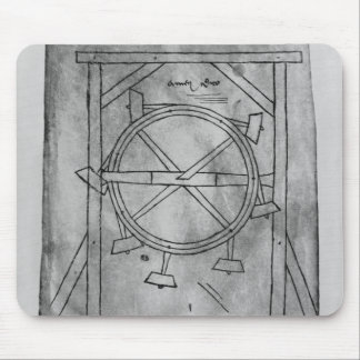 Supposedly perpetual motion mallets and wheel mouse mat