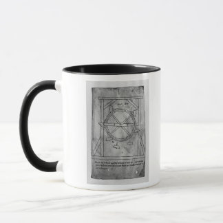 Supposedly perpetual motion mallets and wheel mug