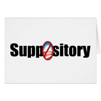 Suppository Card