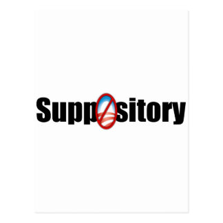 Suppository Postcard