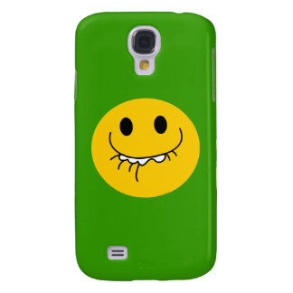 Suppressed laughing yellow smiley face galaxy s4 case