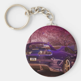 Supra Photography Basic Round Button Key Ring