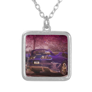 Supra Photography Silver Plated Necklace