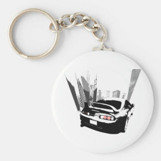 Supra Rollin' Basic Round Button Key Ring