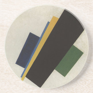 Suprematism by Kazimir Malevich Beverage Coaster