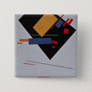 Suprematist Composition, 1915 15 Cm Square Badge