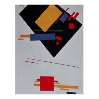 Suprematist Composition, 1915 Postcard