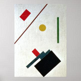 Suprematist Composition, 1915 Poster