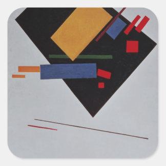 Suprematist Composition, 1915 Square Sticker