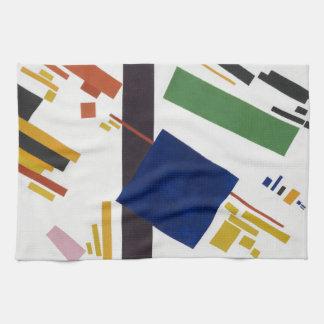 Suprematist Composition by Kazimir Malevich 1916 Kitchen Towel