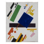Suprematist Composition by Kazimir Malevich 1916 Poster