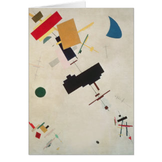 Suprematist Composition No.56, 1936 Card