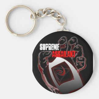 SUPREME ASSAILANT BASIC ROUND BUTTON KEY RING