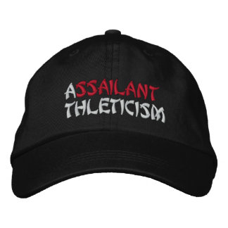 SUPREME ASSAILANT EMBROIDERED HAT