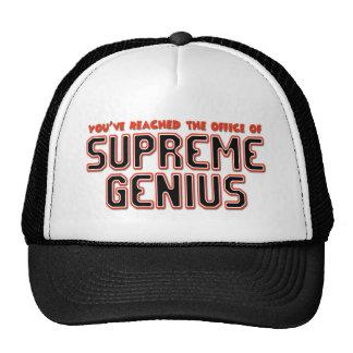Supreme Genius Cap