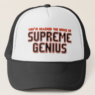 Supreme Genius Trucker Hat