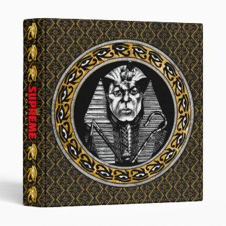 Supreme Royalty KMT Royal Guard Binder (Gold,Blck)