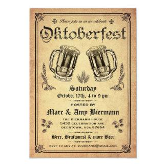 Supreme Vintage Oktoberfest Invitations v.2