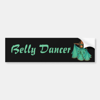 Sura Middle Eastern Belly Dancer Bumper Sticker