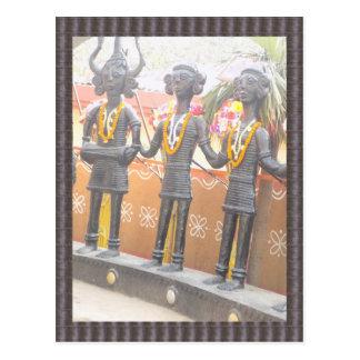 Suraj Kund Mela New Delhi arts crafts show Postcard